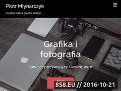 Miniaturka Web design oraz social media managing (www.pmlynarczyk.pl)