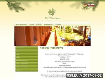 Zrzut strony Pobierowo - Pensjonat Pod Sosnami