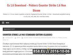 Miniaturka Counter Strike 1.6 Download (pobierzcs.xaa.pl)