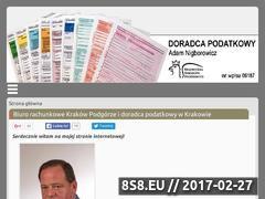 Miniaturka domeny www.podatki-krakow.com.pl