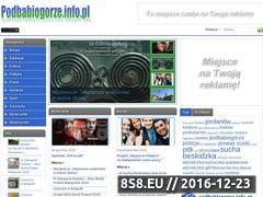 Miniaturka domeny podbabiogorze.info.pl