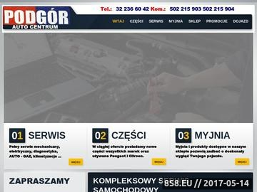 Zrzut strony Podgór - auto gaz