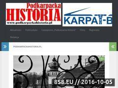 Miniaturka podkarpackahistoria.pl (Historia Podkarpacia w najlepszym wydaniu)