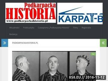 Zrzut strony Teksty, filmy, zdjęcia na temat historii Polski południowej