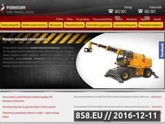 Miniaturka domeny podnosimy.com.pl