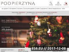 Miniaturka domeny podpierzyna.com