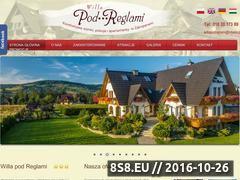 Miniaturka domeny www.podreglami.pl
