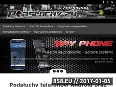 Miniaturka domeny www.podsluchy-24.pl