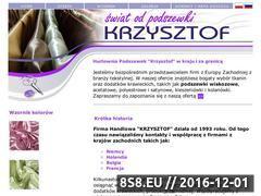 Miniaturka domeny www.podszewki-krzysztof.pl