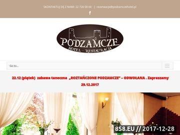 Zrzut strony Podzamcze - hotel i restauracja, Góra Kalwaria