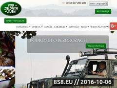 Miniaturka podzielonymjajem.pl (Pod Zielonym Jajem - wyprawa of-road)