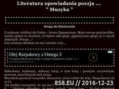 Miniaturka domeny www.poezja.katkara888.com