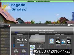 Miniaturka domeny pogoda-smolec.pl