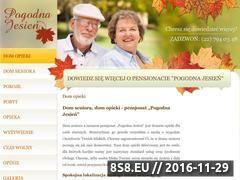Miniaturka domeny www.pogodnajesien.pl