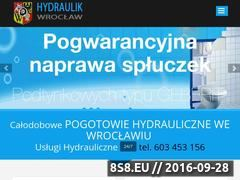Miniaturka Usługi hydrauliczne Wrocław (pogotowie-hydrauliczne-wroclaw.wroclaw.pl)
