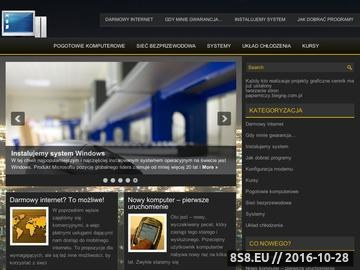 Zrzut strony Pogotowie komputerowe Poznań