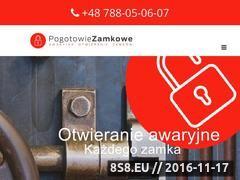 Miniaturka domeny www.pogotowie-zamkowe-warszawa-24.pl