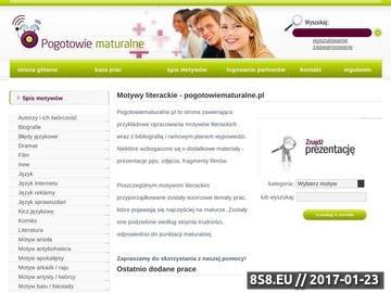 Zrzut strony Prezentacje maturalne od 29 zł