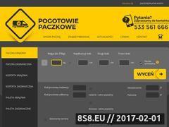 Miniaturka domeny www.pogotowiepaczkowe.pl