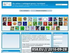 Miniaturka pograjmy.webd.pl (Gry, turnieje i zapis wyników z gier na WWW)