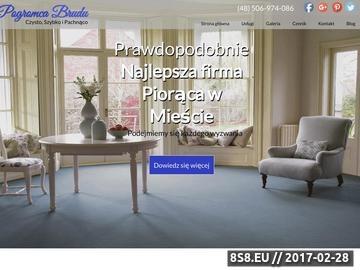 Zrzut strony Pranie mebli tapicerowanych i czyszczenie dywanów Warszawa