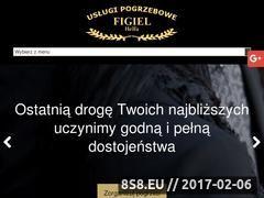 Miniaturka domeny pogrzeboweuslugi.pl