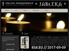 Miniaturka domeny www.pogrzeby-jableka.pl