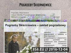 Miniaturka domeny pogrzebyskierniewice.com.pl