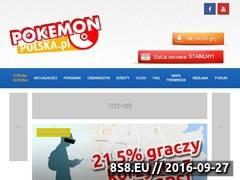 Miniaturka pokemonpolska.pl (Porady dotyczące gry Pokemon Go)