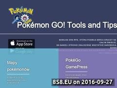 Miniaturka Narzędzia do gry Pokemon Go (pokemontools.info)