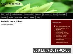 Miniaturka domeny pokerpasja.pl