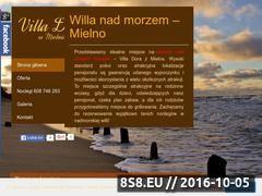 Miniaturka domeny www.pokojenadmorzemmielno.pl