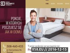 Miniaturka domeny www.pokojepracowniczepoznan.pl