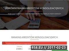 Miniaturka Kredyty konsolidacyjne online (polaczkredyty.com.pl)
