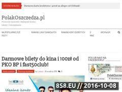 Miniaturka polakoszczedza.pl (Najlepsze lokaty i konta - promocje bankowe)