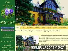 Miniaturka domeny www.polana.karpacz.pl