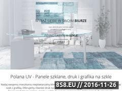 Miniaturka Panele szklane do kuchni (polanauv.pl)