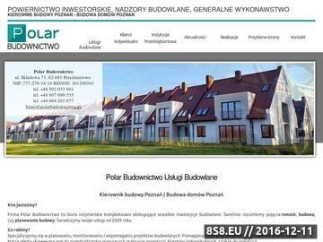 Zrzut strony Kierownik Budowy oraz Inspektor Nadzoru Poznań - budowa domów
