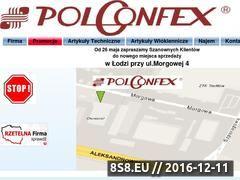 Miniaturka domeny polconfex.com.pl