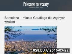 Miniaturka www.polecwczasy.pl (Polecane miejsca na udane wczasy zagranicą)