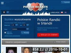 Miniaturka www.polishhearts.ie (Polskie randki)
