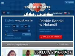Miniaturka www.polishhearts.nl (Polskie randki w Holandii)