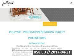 Miniaturka domeny pollyart.pl