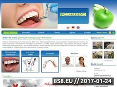 Miniaturka domeny www.polmadent.pl