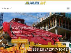 Miniaturka www.polmix-ast.pl (Usługi serwisu pomp do betonu i obróbka metalu)