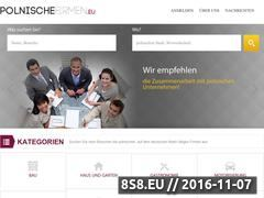 Miniaturka domeny www.polnischefirmen.eu