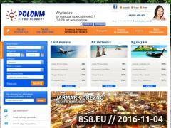 Miniaturka domeny polonia-travel.pl
