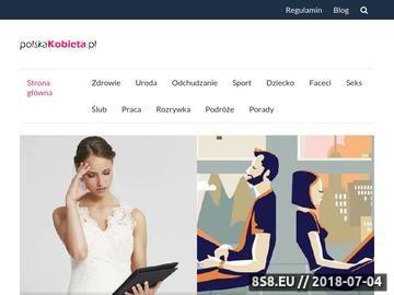 Zrzut strony Informacje ze świata kobiet