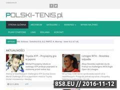 Miniaturka www.polski-tenis.pl (Tenis ziemny)