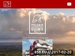 Miniaturka domeny www.polskie-domy.pl